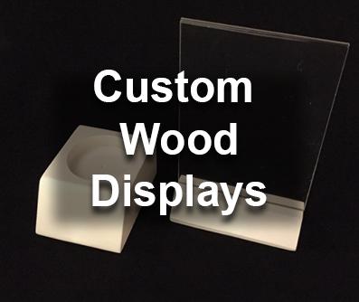 custom wood displays